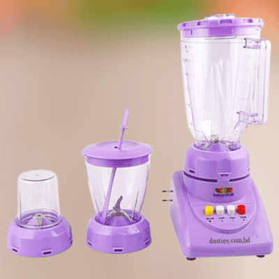 Miyako YT-2004 2 in 1 Blender - 1.5L - Purple