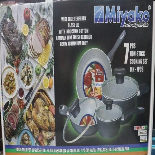 Miyako 7 pcs cooking set