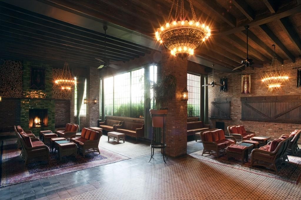 custom restaurant tables and chairs bistro table walmart wedding venue review: the bowery hotel in nyc