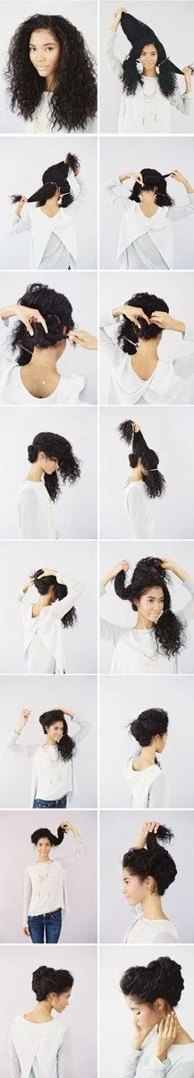 10 amazing wedding hairstyles for curly hair | woman getting