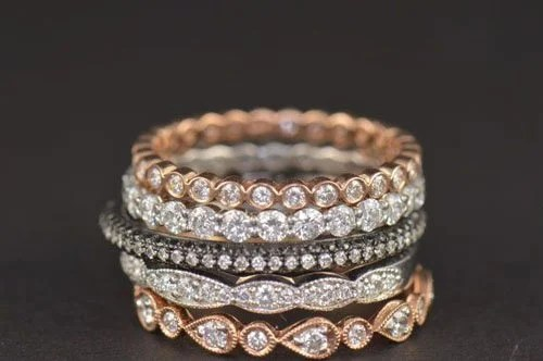 Stackable Wedding Rings