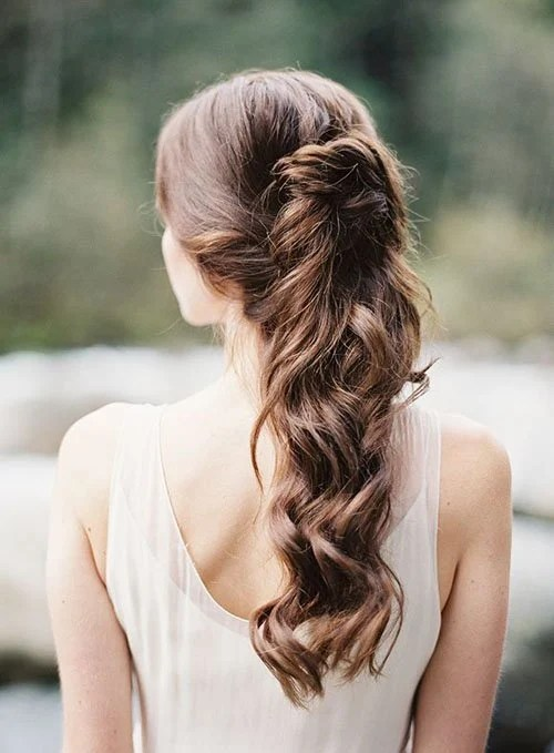 13 HalfUp HalfDown Wedding Hairstyles to Try Now