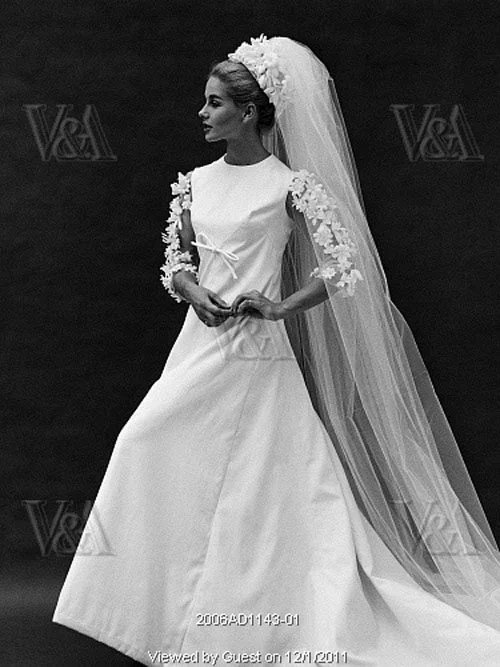 Our Favorite 1960s Wedding Dresses
