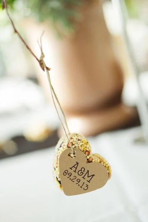 Homemade Wedding Favors