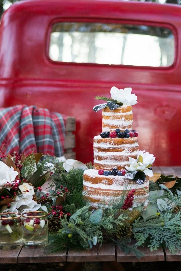 A Country Christmas Wedding