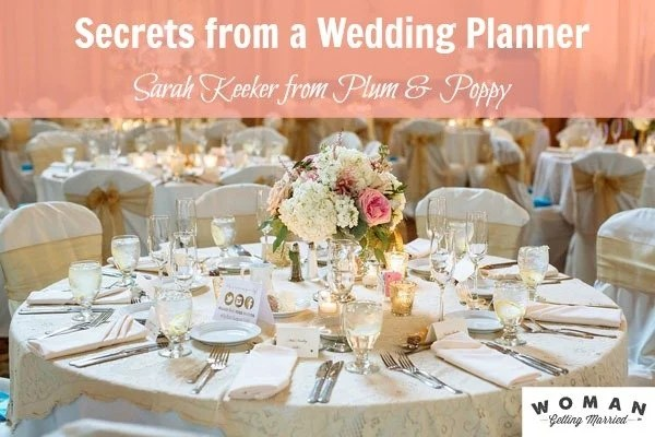 Wedding Planner Sarah Keeker Shares How To Save Big On