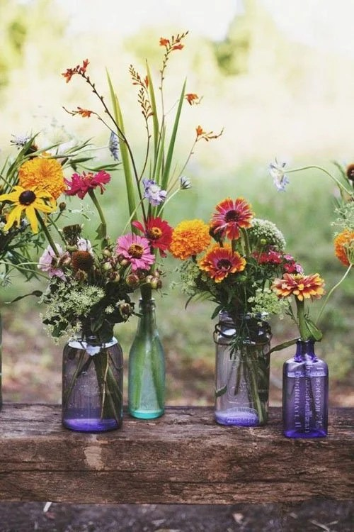Mix and Match Your Wedding Flowers