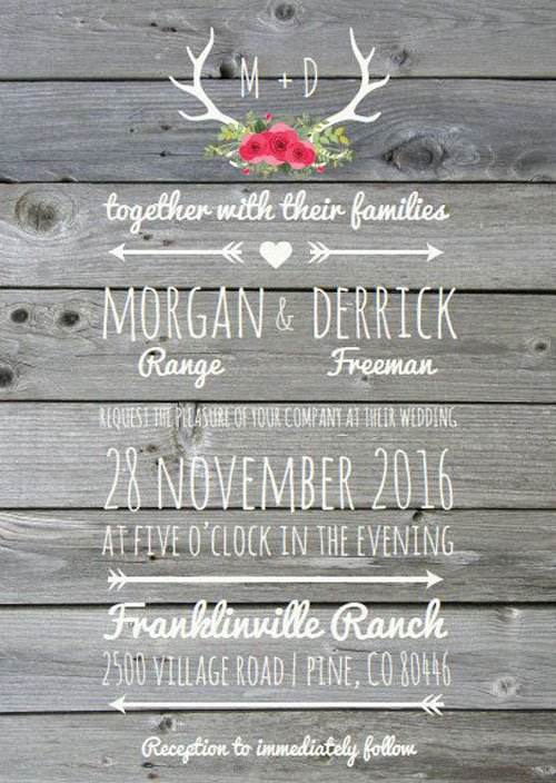Send Casual Wedding Invitations
