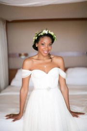 8 glam and gorgeous black wedding
