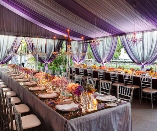 15 Amazing Ideas for Gorgeous Wedding Tents