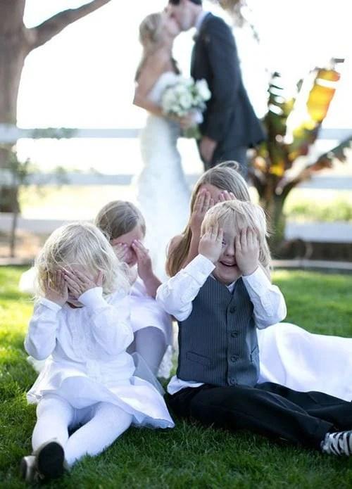 15 Super Cute Group Wedding Photo Ideas