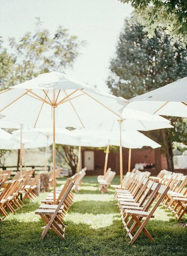 10 outdoor wedding ceremony