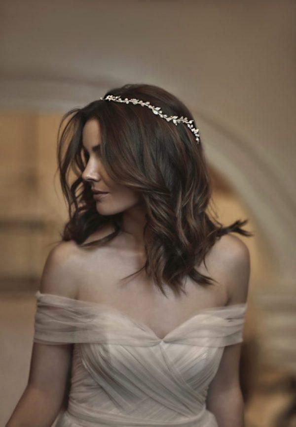 Tania Maras Fayette Delicate Wedding Halo