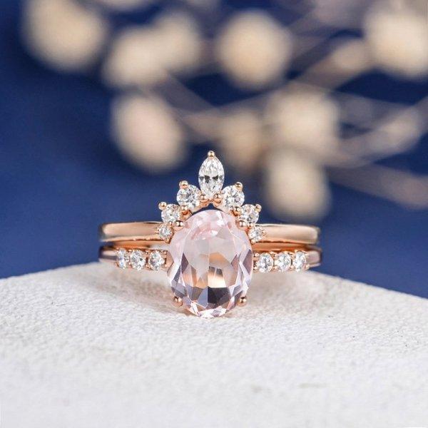 Pink Morganite Ring ($1,052)