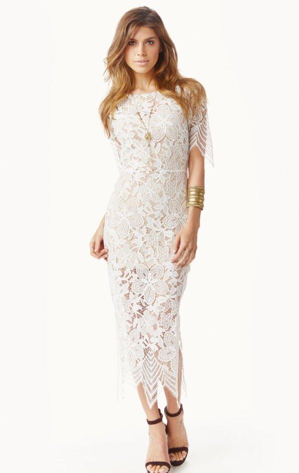 For Love & Lemons Luna Maxi Dress