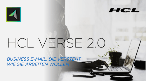 Tom Zeizels Blog: E-Mail mal anders: HCL Verse 2.0