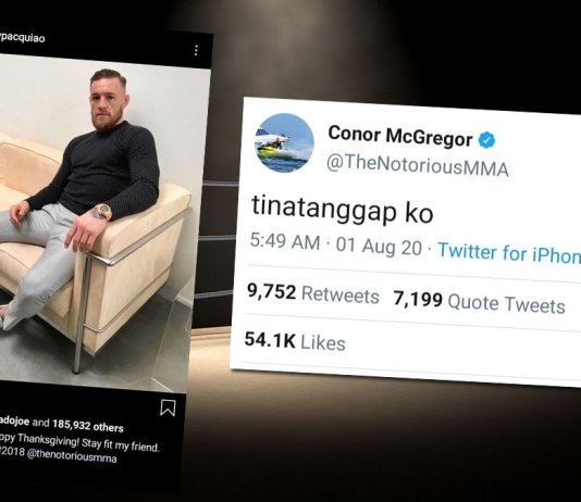 Five years ago, a megabout between 8-division boxing world champion Manny Pacquiao and two-division mixed martial arts world champion Conor McGregor is far from reality.