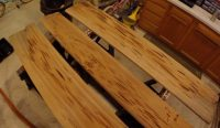 How to Build a Resin Dining Table with Pecky Cypress ...
