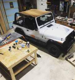 prepare jeep wrangler yj interior tub [ 3018 x 3018 Pixel ]