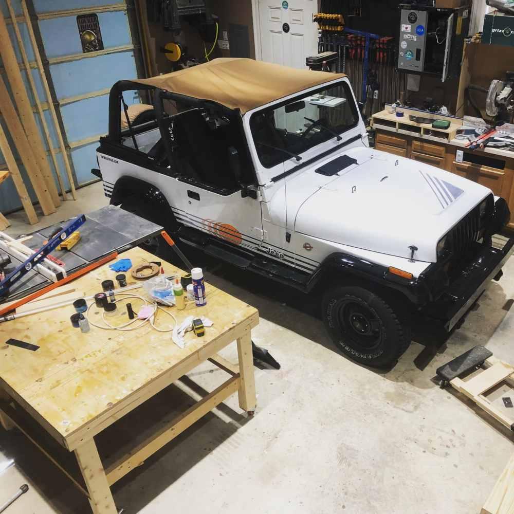 medium resolution of prepare jeep wrangler yj interior tub