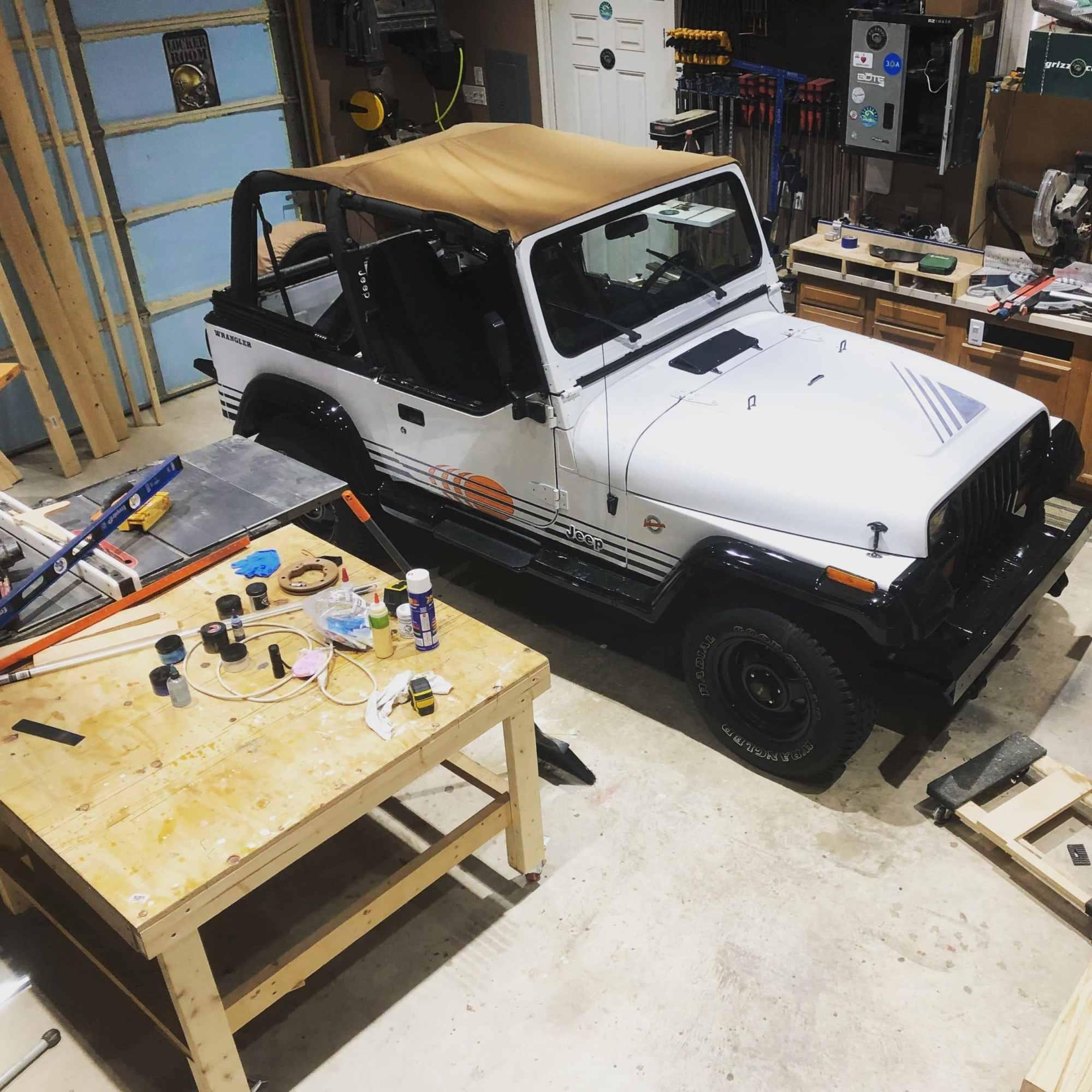 hight resolution of prepare jeep wrangler yj interior tub