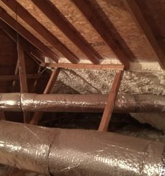 spray foam attic install [ 768 x 1024 Pixel ]