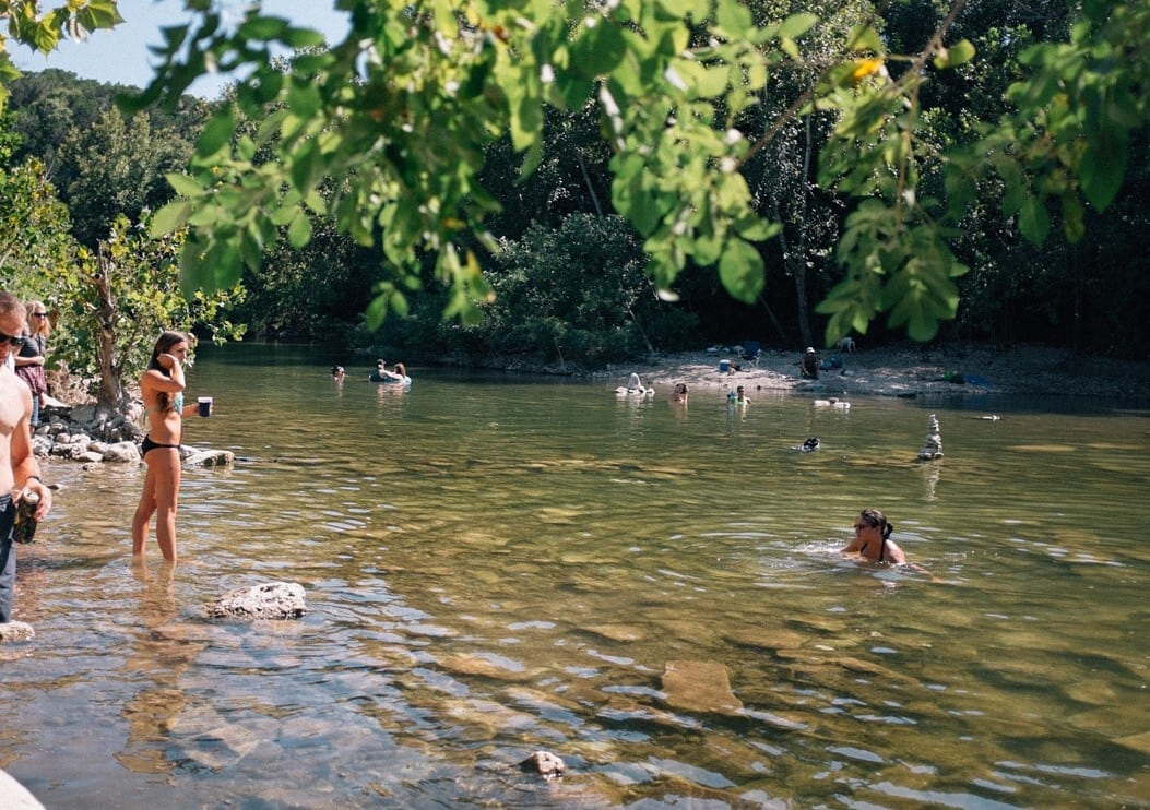 Swimming holes around austin lost creek do512 family for Fishing spots in austin