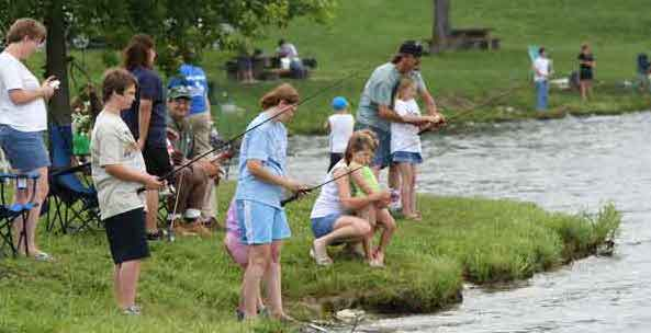 Youth fishing derby at camp mabry do512 family for Fishing camps for kids