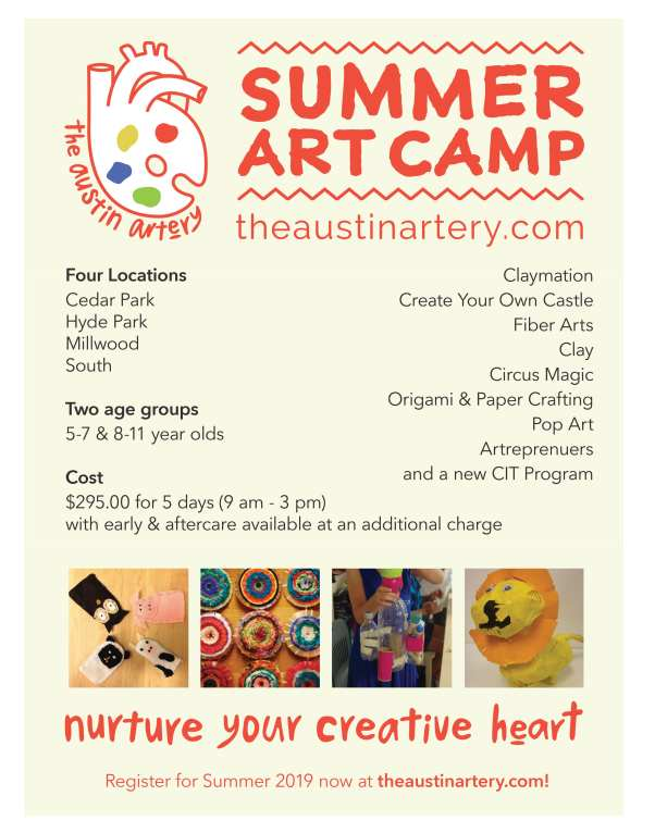 Summer Camps at The Austin Artery – Do512 Family