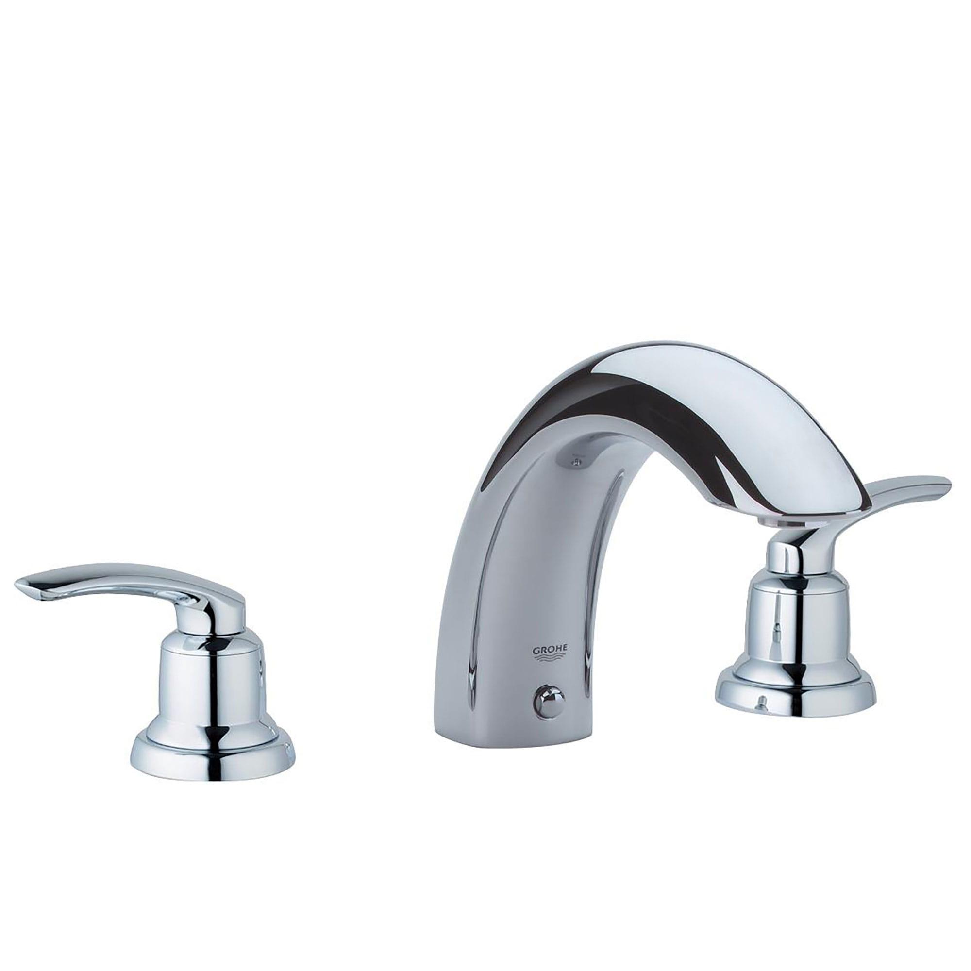 tree hole roman bathtub faucet