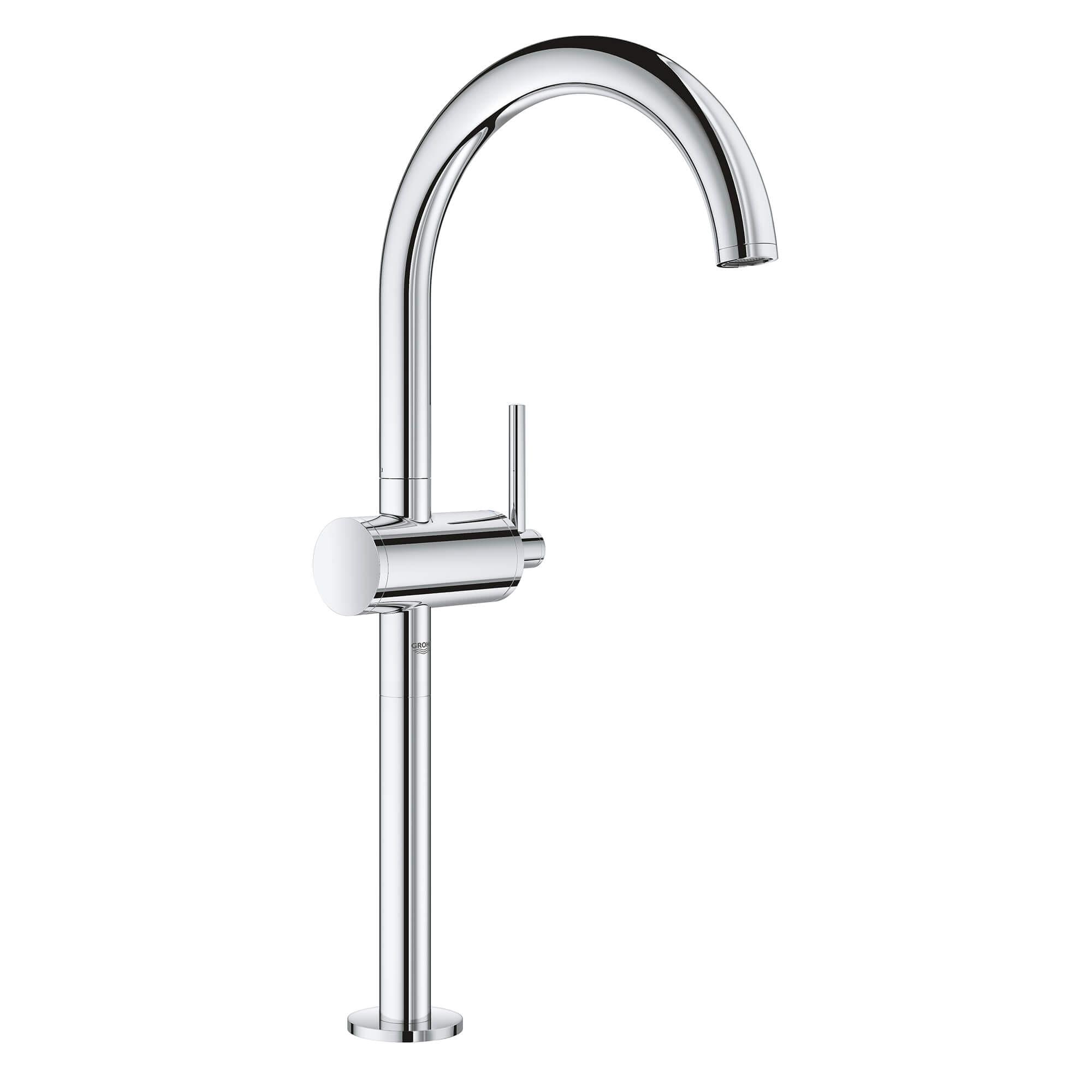 single hole single handle deck mount vessel sink faucet 1 2 gpm