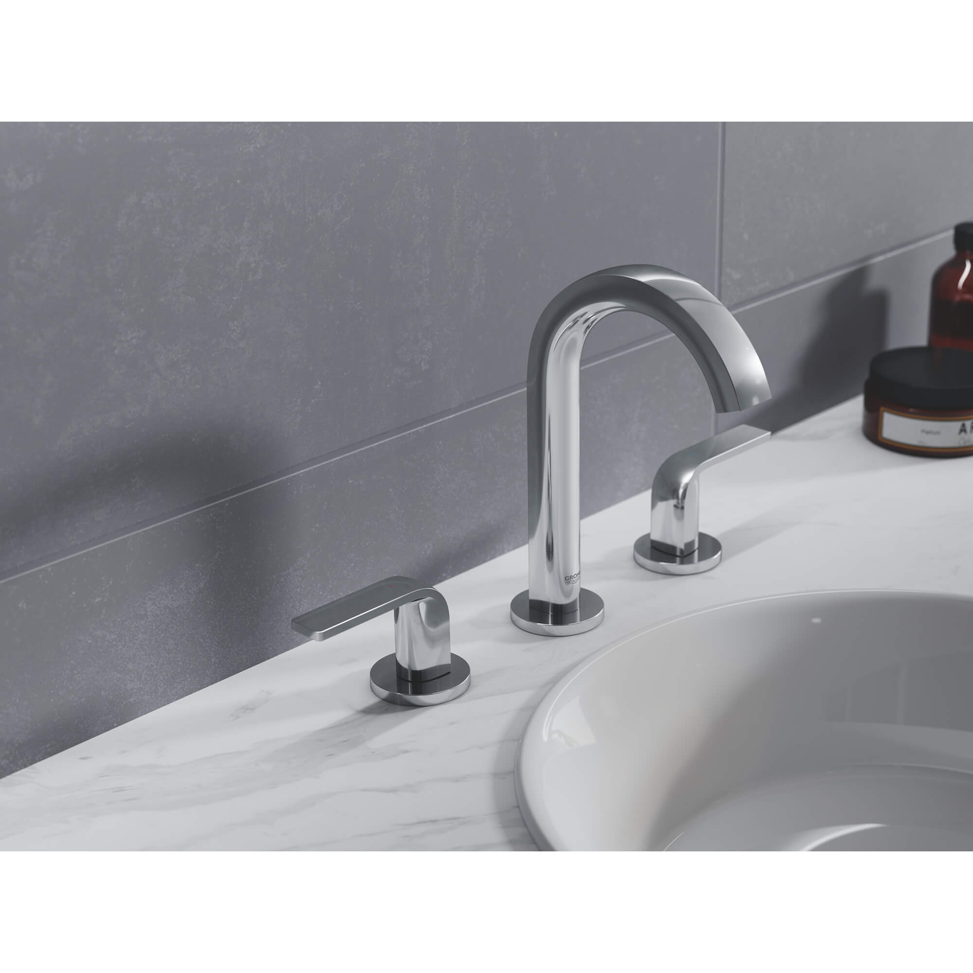 8 inch widespread 2 handle m size bathroom faucet 1 2 gpm