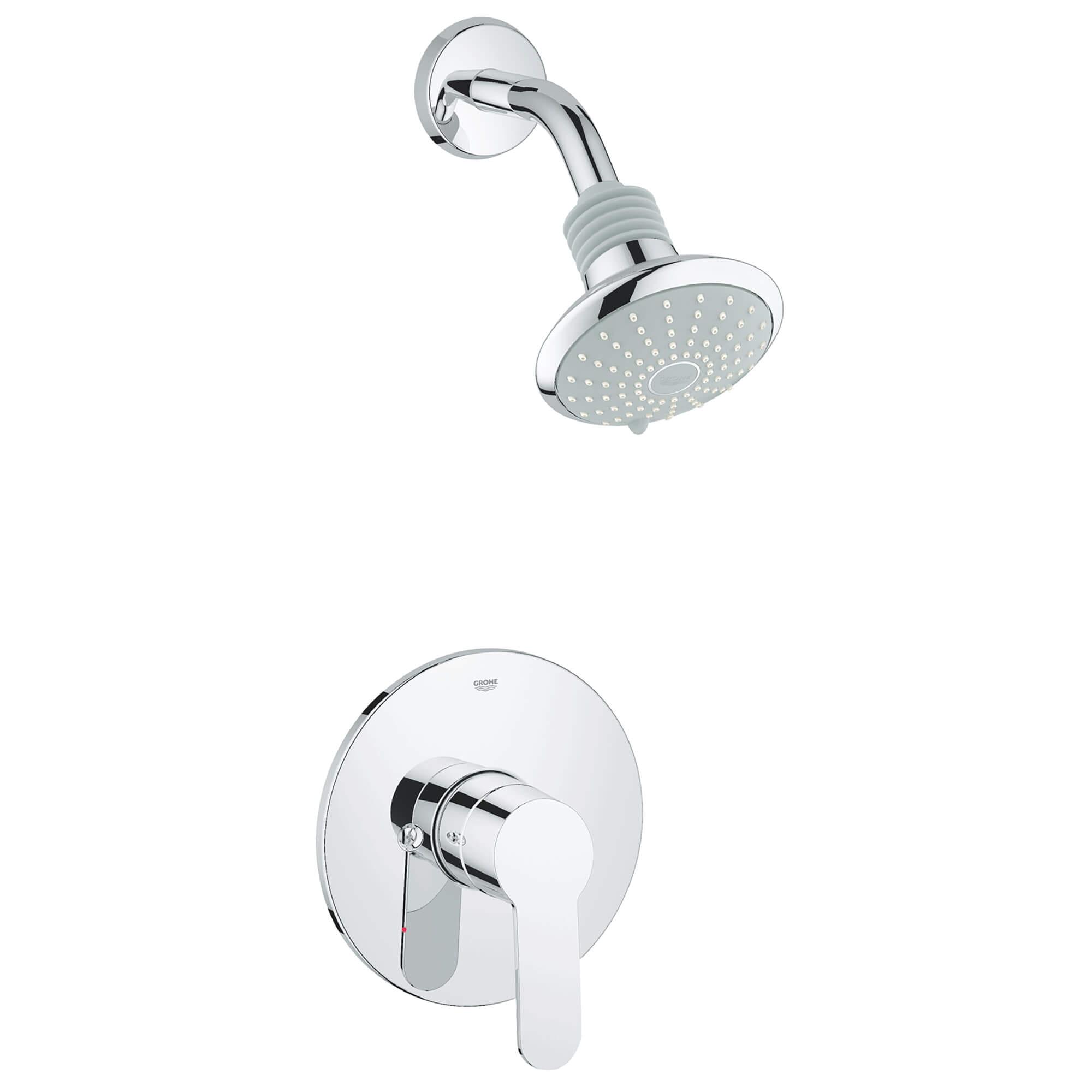 pressure balance valve tub shower combo