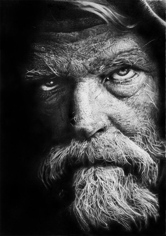 These Pencil Drawings Prove the True Mastery in Art   Widewalls