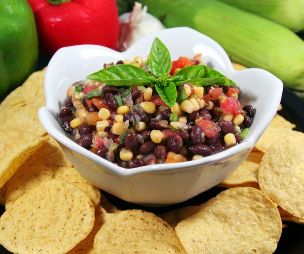 Black Bean Salsa-dreamstime