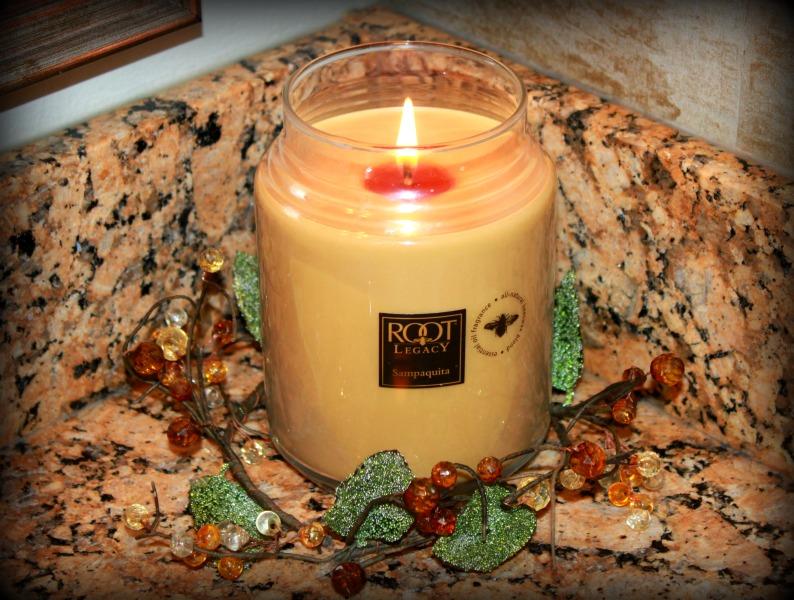 Sampaquita Candle