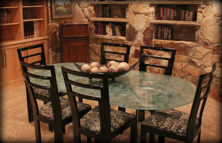 Stone Room Table