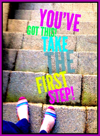 take the first step 1