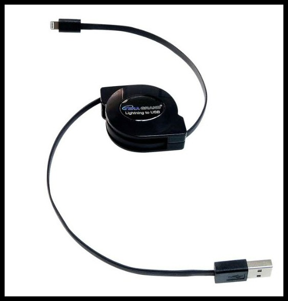 Retractable phone cord 1