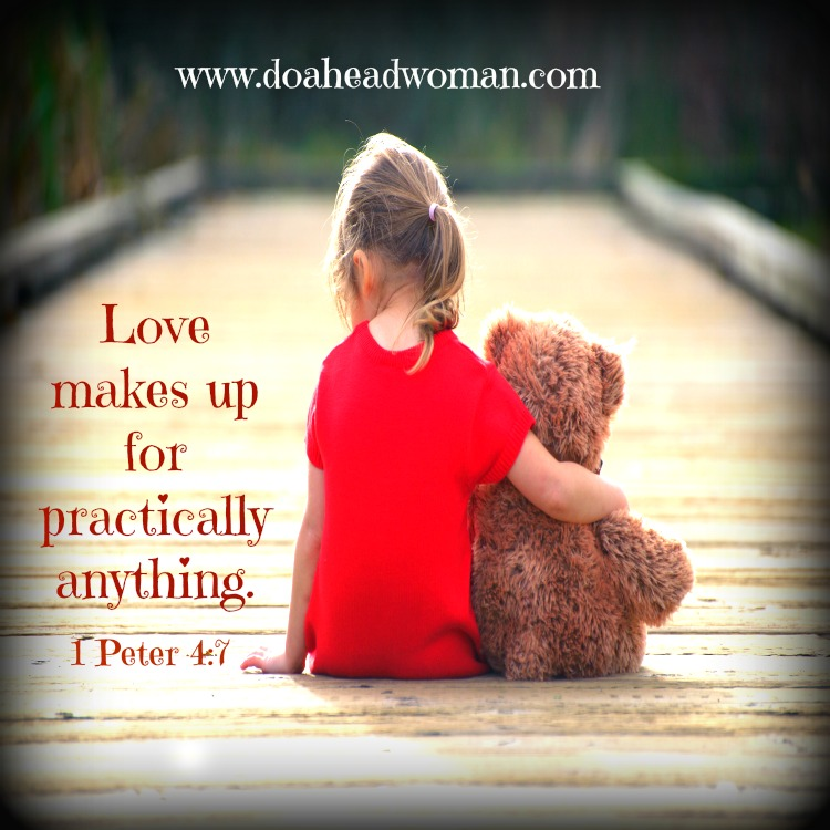 Love makes up