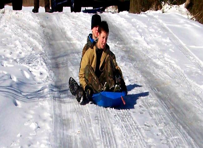snow sled 2