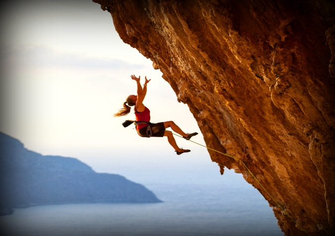Climbing a Wall 1
