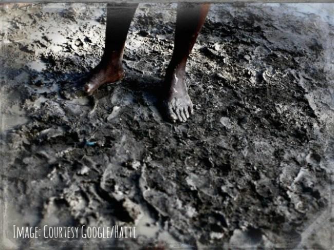 Muddy feet 2