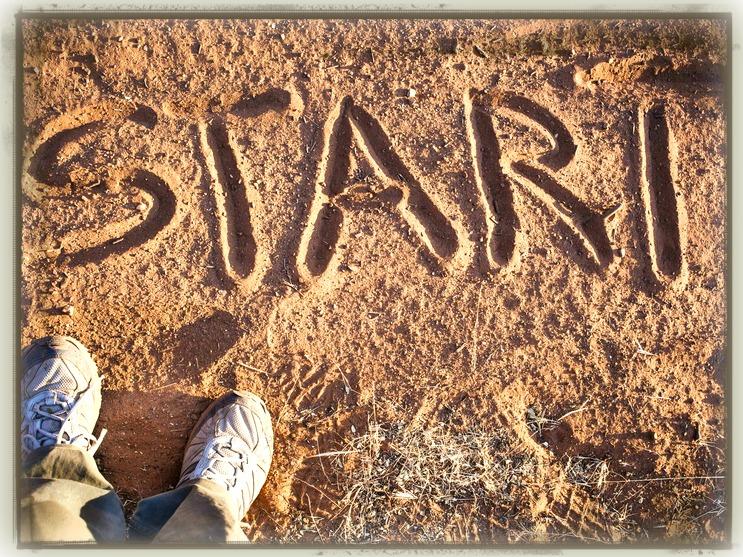Feet start 1