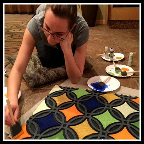 Painting Rug 2