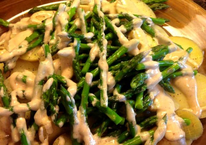 Potatoes and Asparagus