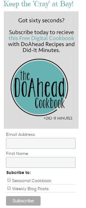 Cook Book Subscription