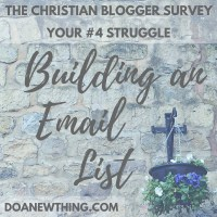 Building an Email List Authentically as a Christian Blogger