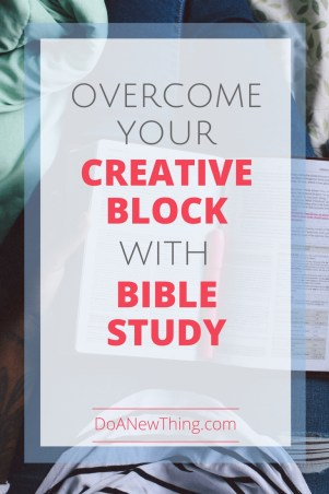 For these successful writers, inspiration flows out of their time spent in Bible, not the other way around. Try these tips to overcome your creative block through Bible study.