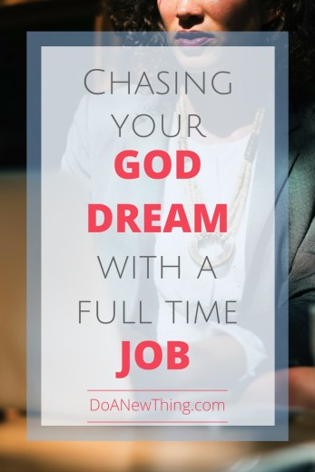 Do you remember the day you decided to chase hard after the dream God put in your heart? I do. Full of hope and determination, I said yes to God. #Dream